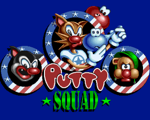 Putty Squad title screen
