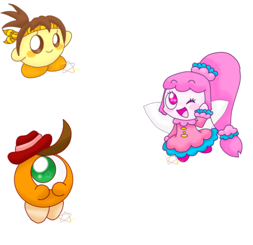 File:Kirby oc group icon the characters by chenanigans-d4ksc63.png