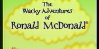 "The Wacky Adventures of Ronald McDonald Episode ""The Legend of McDonaldland Loch"" (Limited Release 2003 VHS)"