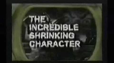 The Shrinking Character PS1 SAT PC - Cancelled