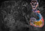 Mural - Controling Monster