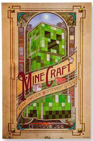 File:Minecraft posters.jpg