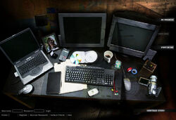 Sams desk