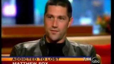 Matthew fox on GMA-2006