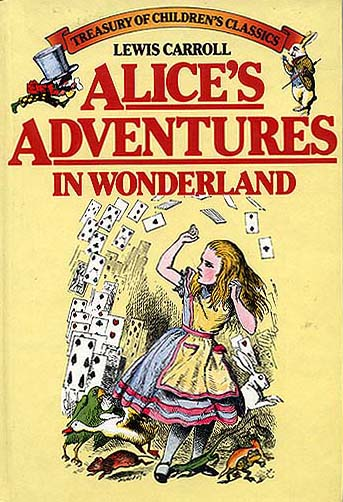 a literary analysis of alice adventure in wonderland The psychoanalytic approach  achieved through a close analysis of the language and symbolism  through her experiences in wonderland, alice gradually gains .