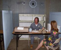 Eric in Processing Center