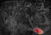 Mural - scribble
