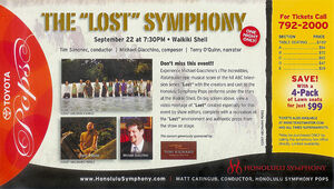 Lost Symphony mailer