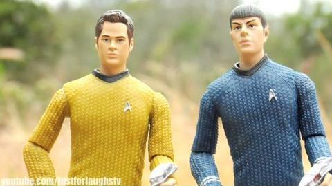 LOST Parody 9 - Star Trek The LOST Generation