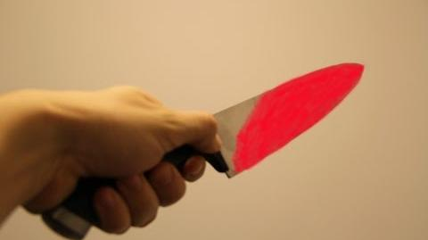 GLOWING 1000 degree KNIFE VS PIG