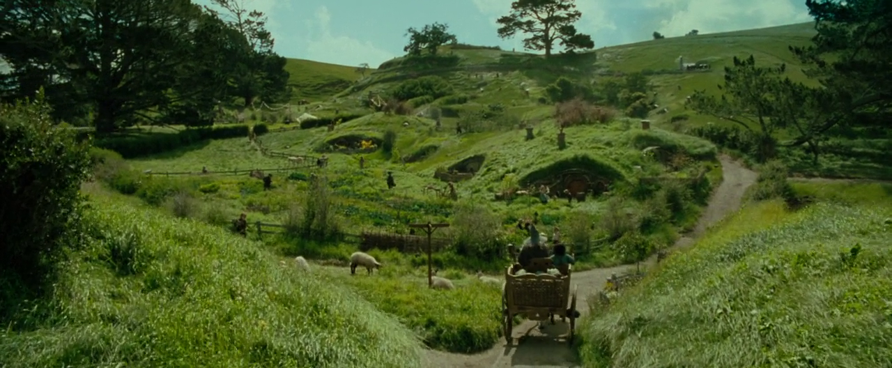 shire fotr - Lord Of The Rings Hobbit Home