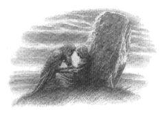 Alan Lee - The Death of Morwen