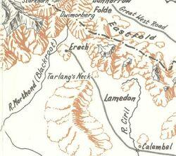 Blackroot Vale on map