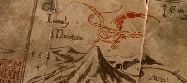 File:The Lonely Mountain - FOTR.PNG
