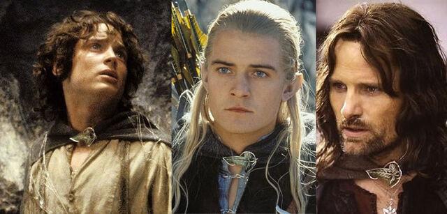 File:Frodo, legolas, aragorn.jpg