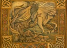 Tapestry of Léod and Felaróf