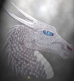 Silver dragon by kanowyn