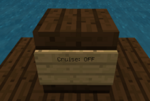 Harda movecraft cruise sign