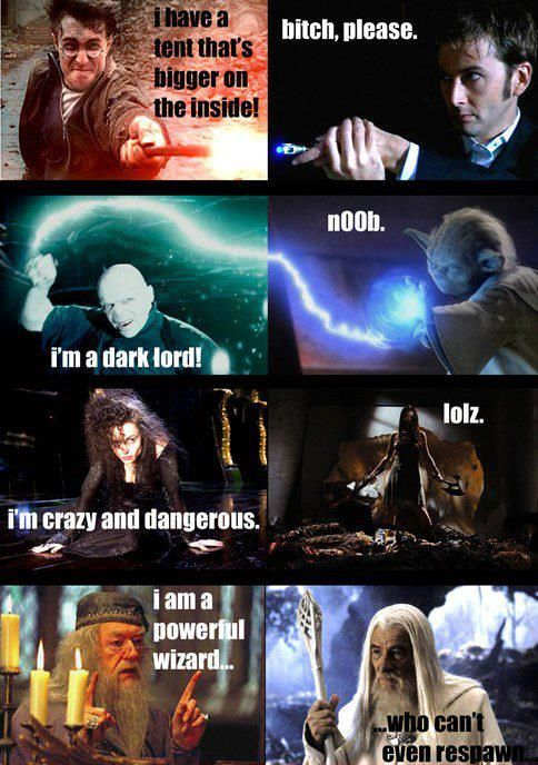 Image - Harry Potter vs Doctor Who Star wars Serenity and Lord of ...