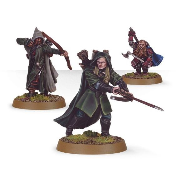 The Three Hunters Lord Of The Rings Warhammer Wiki