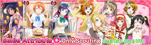 (8-9) Smile Limited Scouting