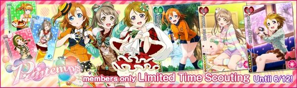 (6-9) Printemps Limited Scouting