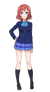Nishikino Maki Character Profile (Pose 1)
