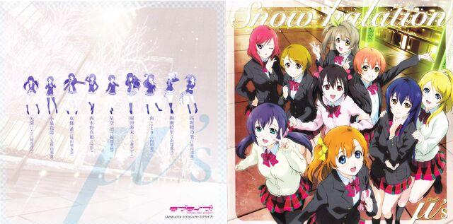 Archivo:Snow halation - Booklet.jpg