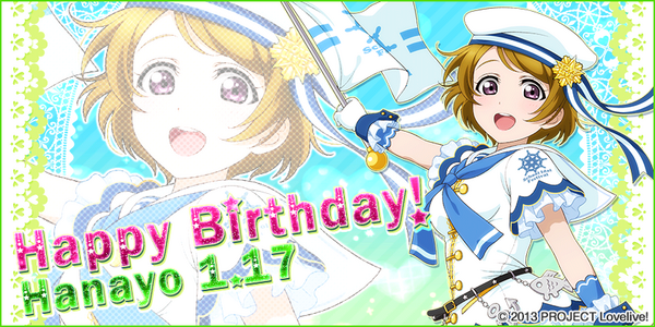 Happy Birthday, Hanayo! 2015