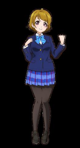 File:Koizumi Hanayo Character Profile (Pose 1).png