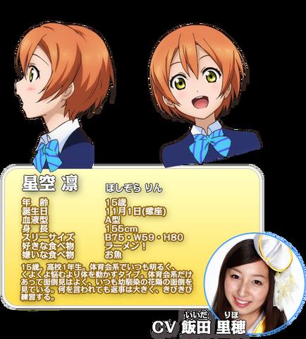File:Hoshizora Rin Character Profile.png