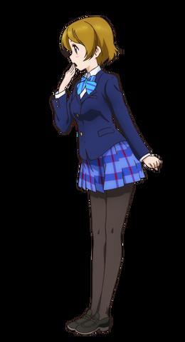 File:Koizumi Hanayo Character Profile (Pose 2).png