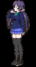 Toujou Nozomi Character Profile (Pose 2)