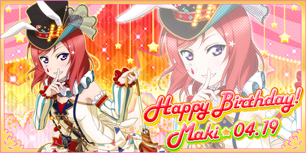 Happy Birthday, Maki! 2017