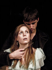 Hamlet and Ophelia by lost in burnie