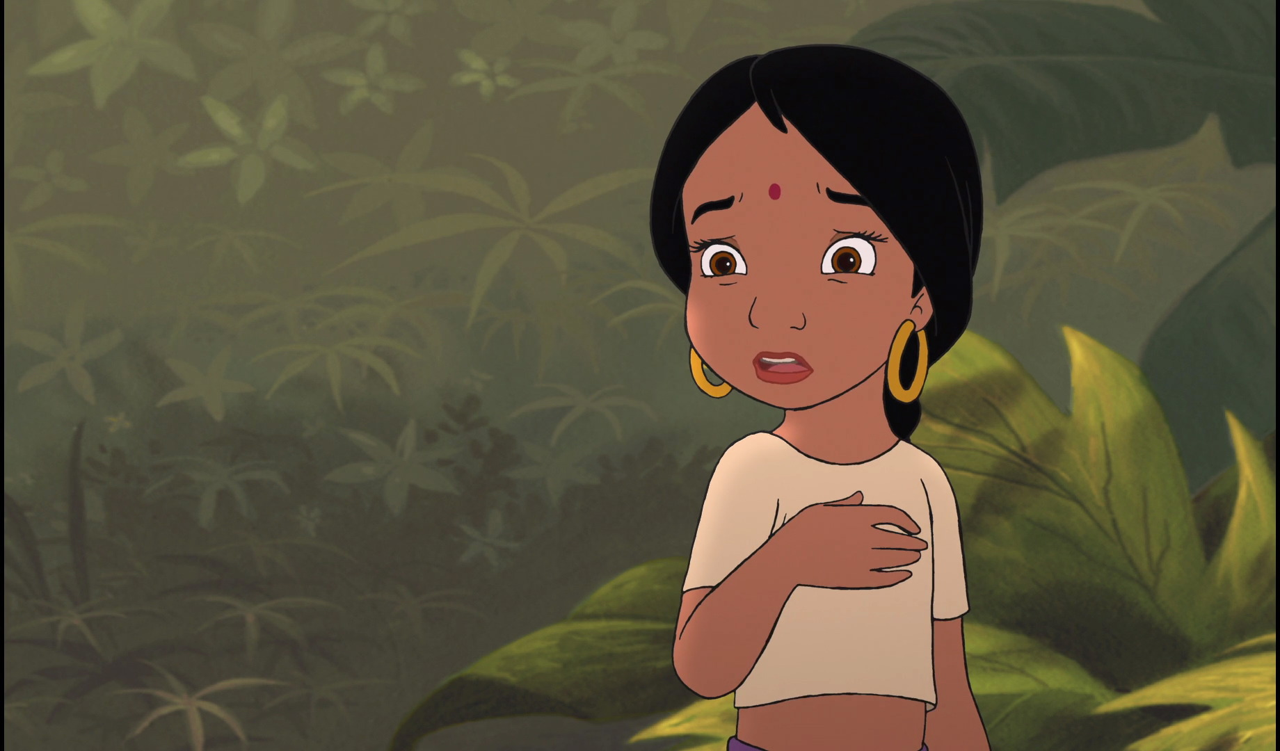 Image - Shanti has found out Mowgli wanted Baloo the Bear ...