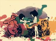 Mowgli and Shanti fanart
