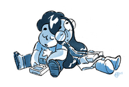 Steven Universe Steven and Connie sleeping