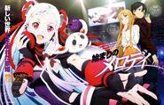 Asuna & Kirito (Sword Art Online Ordinal Scale) Pic (3)