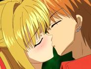 Lucia & Kaito S1E17 Kiss (2)