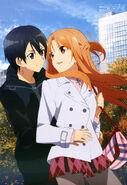 Asuna & Kirito Promotional Pic (4)