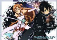 Asuna & Kirito Poster (11)