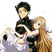 Asuna & Kirito Promotional Pic (6)