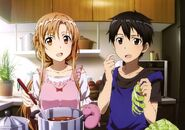 Asuna & Kirito Promotional Pic (15)