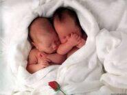 Jamee and Sophia babies