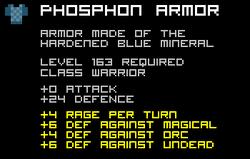 Phosphon Armor