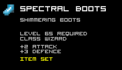 Spectral Boots