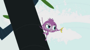 Purple Monkey sliding