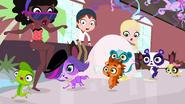 Pets scare party guest