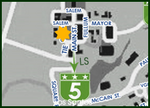 Sheriff's Department HQ Location